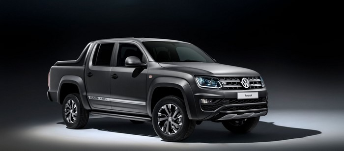 Volkswagen Amarok в спецверсии Dark Label