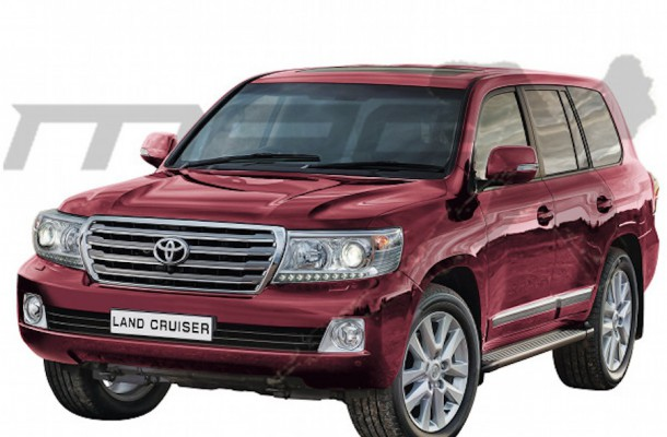 Toyota Land Cruiser 2016 facelift rendering 610x400