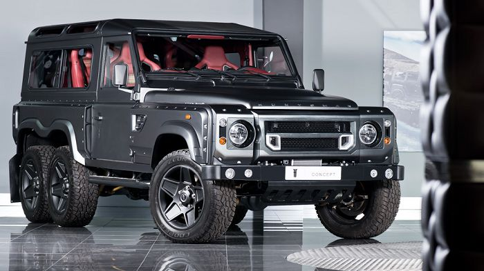 Land Rover Defender Flying Huntsman