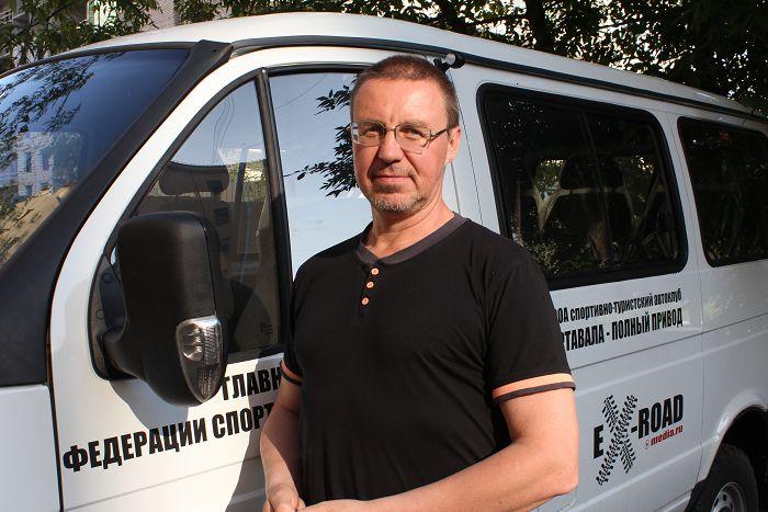 Петр Груздев - автор проекта тюнинга Соболя