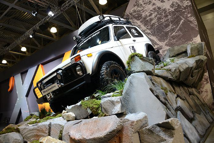 Lada 4x4 Wild Edition на Moscow off-road show