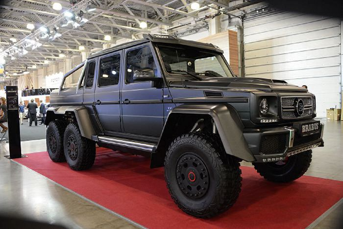 BRABUS G-Class 6x6 на MOSCOW OFF-ROAD SHOW