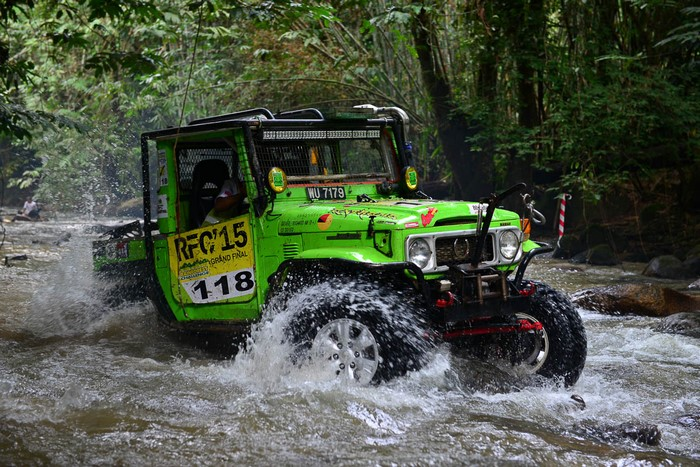 Rainforest Challenge Малайзия 2016