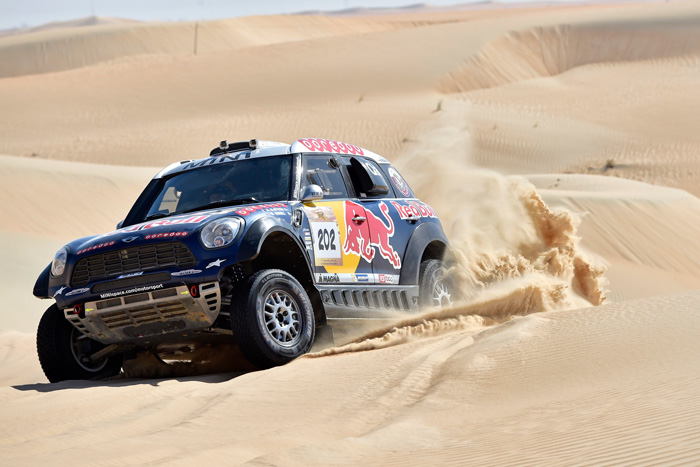 Nasser Al Attiyah Day 2 action